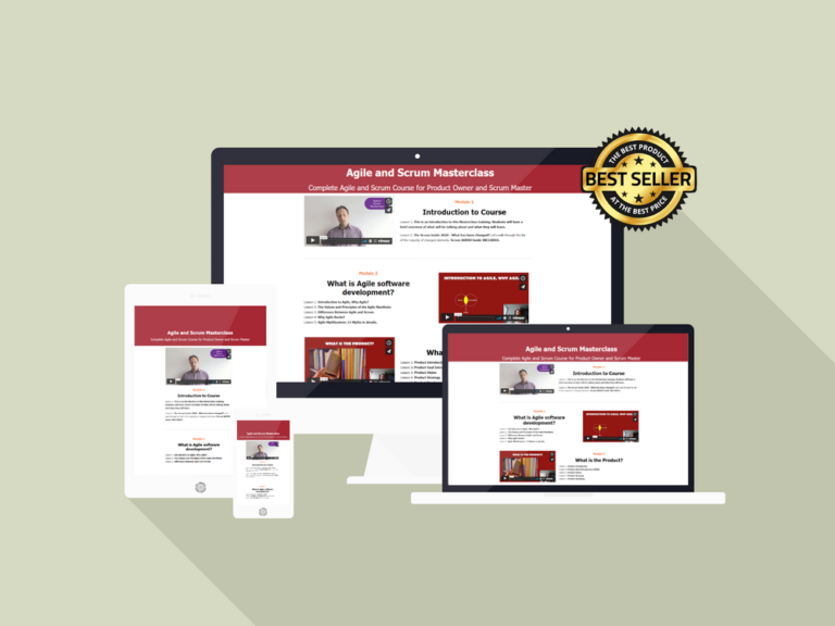 Updates for Affiliates: Agile and Scrum Masterclass – 7 new short promo videos for your campaigns available NOW! CLICK HERE FOR DETAILS