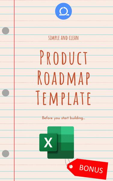XLSX Product Roadmap template