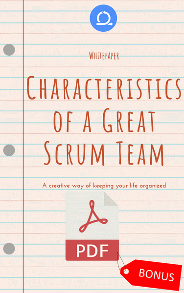 PDF Characteristic of a great scrum team