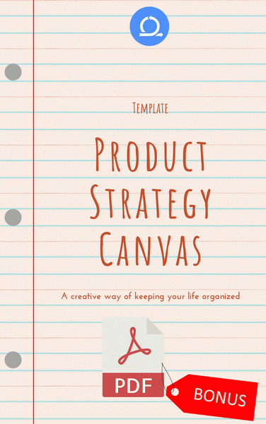 PDF Product Strategy Canvas