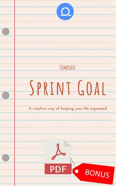 PDF Sprint Goal Template