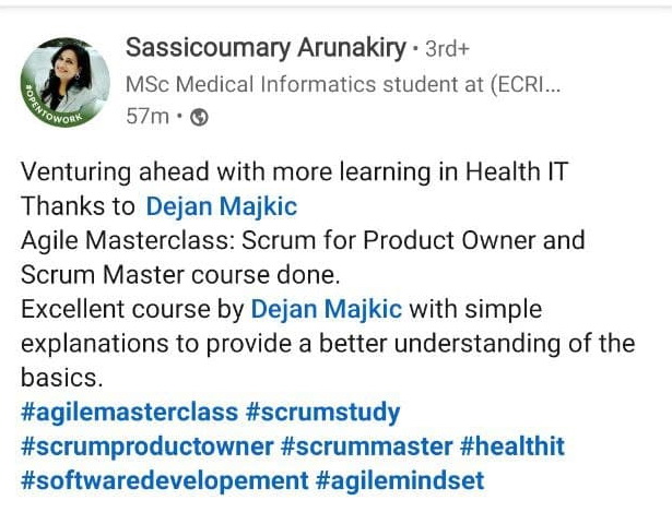 Agile and Scrum Student