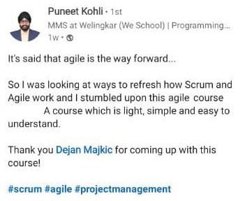 Agile and Scrum enthusiast